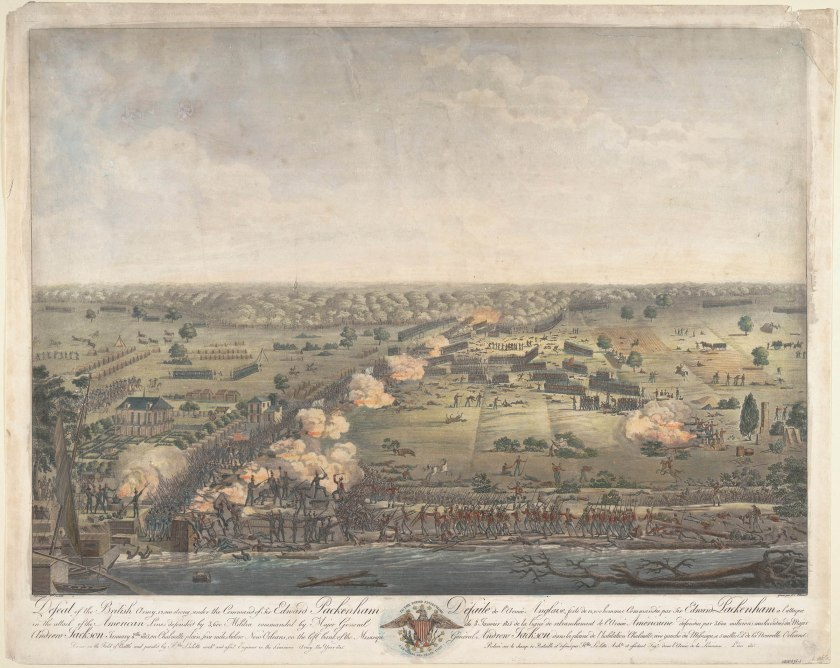 battle of new orleans painting