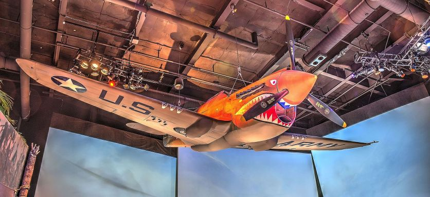 Flying tiger plane