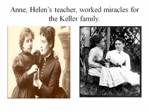 Helen Keller and Sullivan