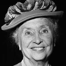 Helen Keller old