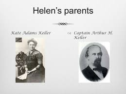 Helen Keller's Parents