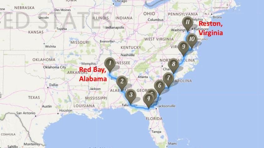 Red Bay To Reston