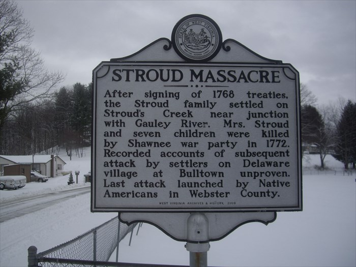 STROUD FAMILY MASSACRE Historic Marker
