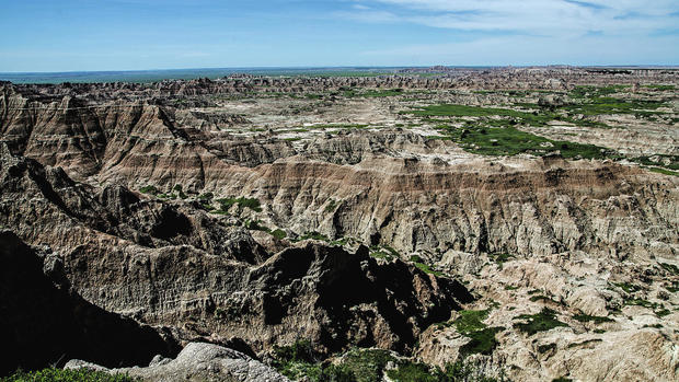 This is what Badlands National Park in South Dakota is all about